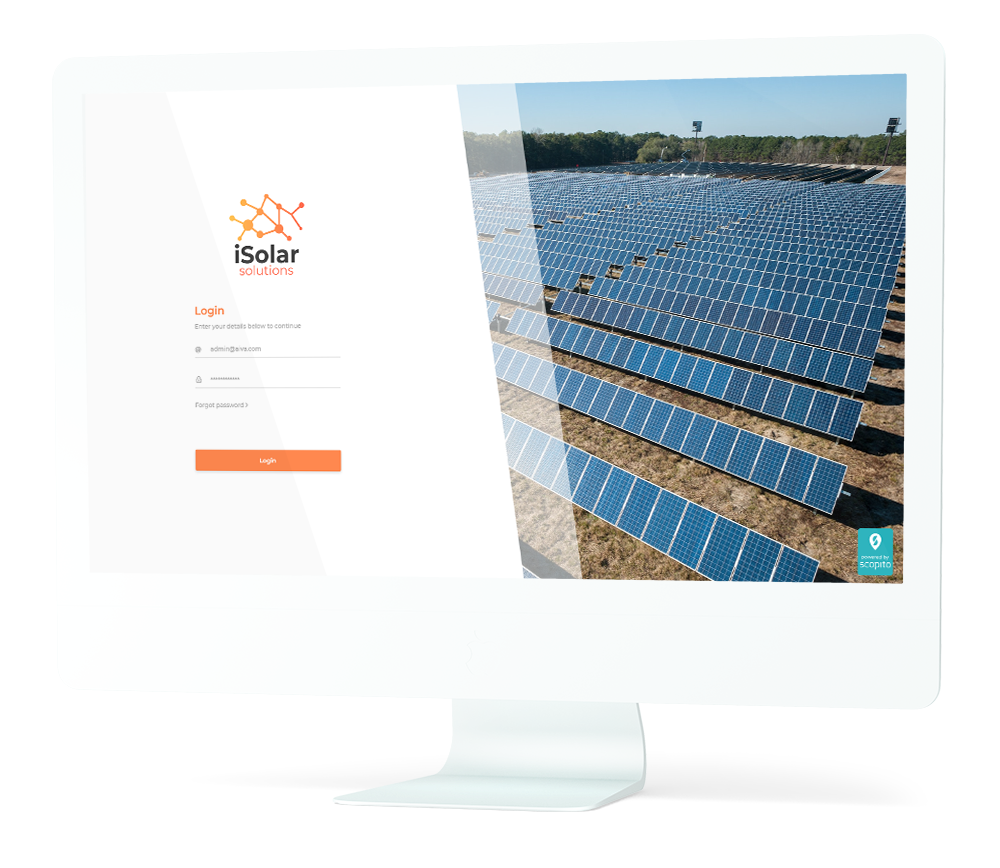 solar panel inspection software