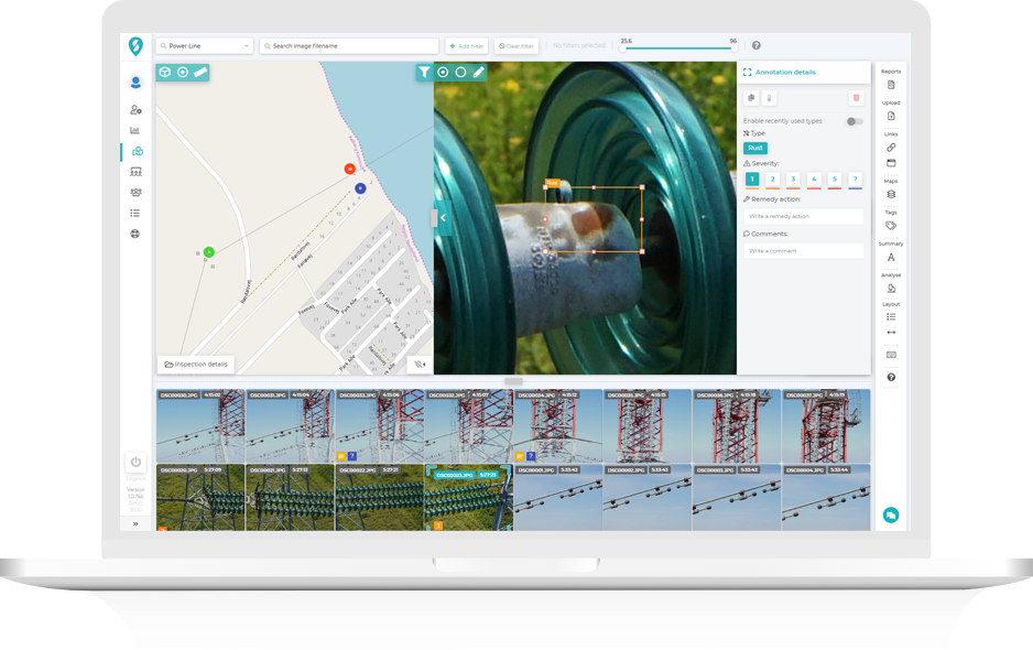Improve system reliability with power line inspection software ...