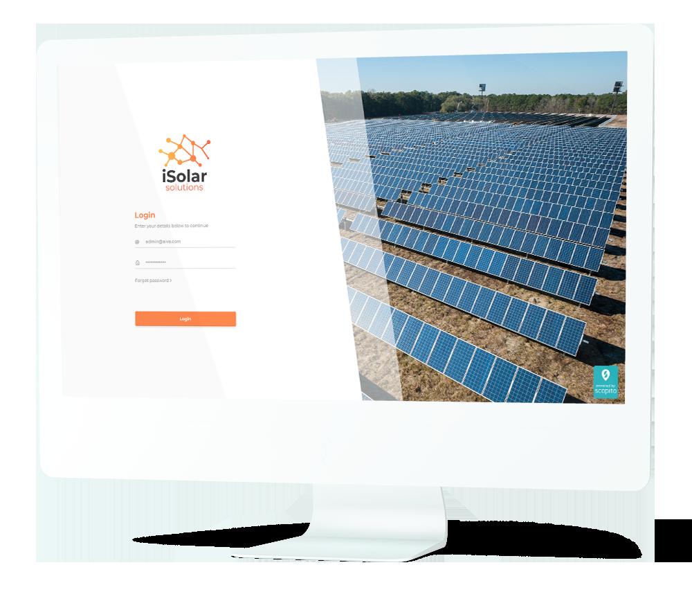 solar panel inspection software