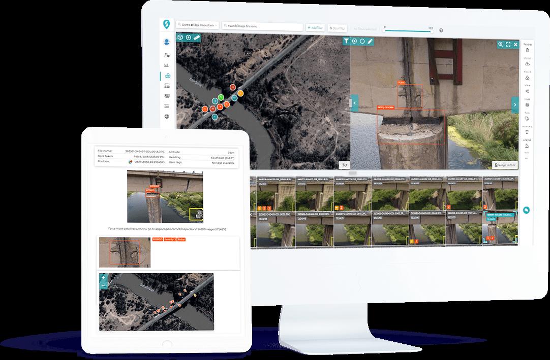 Bridge inspection software